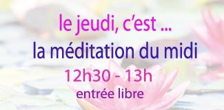 Méditation du jeudi