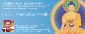 Célébration bouddhiste